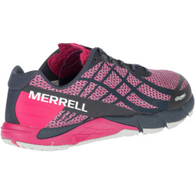 Merrell Bare Access Flex Shield Løbesko Damer pink/sort